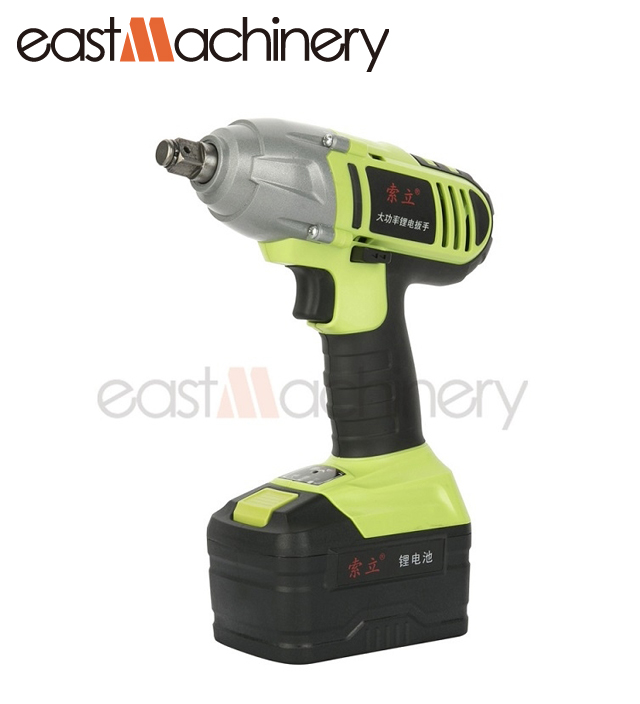 Best selling 21V/3.0Ah 110/220V Electric Cordless Impact Wrench