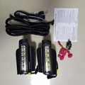 New High quality E4 mark LED daytime running light fog drl lamp with dim function for