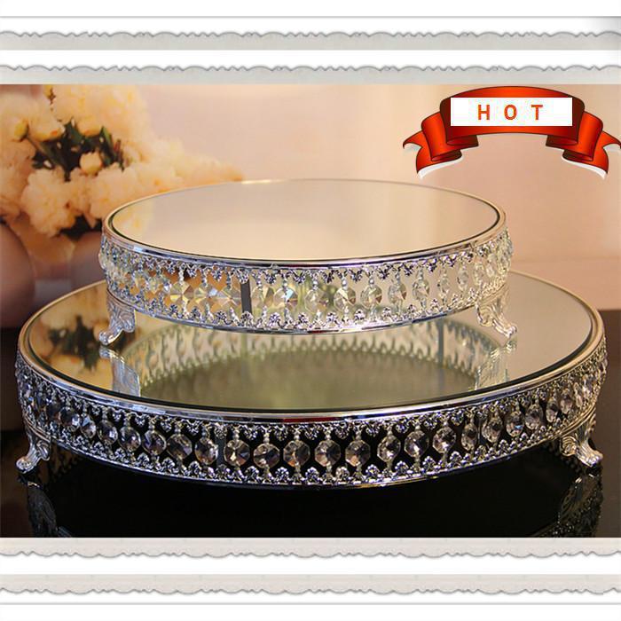 wedding cake stand dessert rack pallet glass diamond fruit stand cake