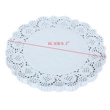 150pcs 16.5CM/6.5Inch Lace Paper Doilies/Doyley Mat Craft DIY Scrapbooking/Wedding Decoration Vintage napkin Hollowed(China (Mainland))