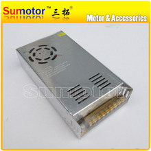 AC to DC 24V 15A power supply switch control, Electric adapter, Input 100~240V, 50/60Hz, Output 24V, 15A,  monitor/ DC motor