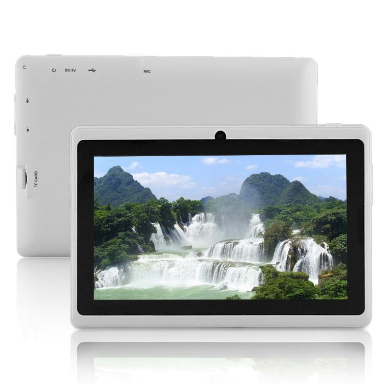 7 Dual Core Tablet PC Android 4 4 Bluetooth WiFi Tablet PC Be good for promotion