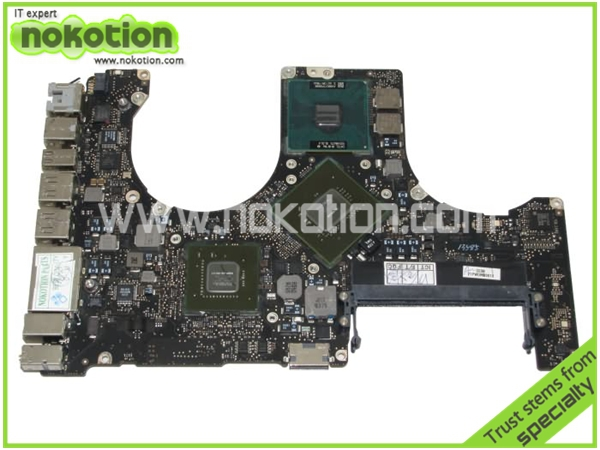 A1286 laptop motherboard for APPLE 820-2523-B P8800 cpu nvidia chipset ddr3(China (Mainland))