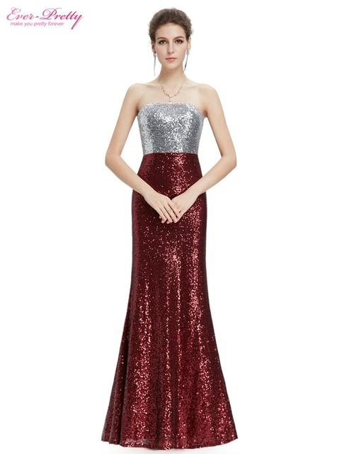 Пром платья новое поступление женщин без бретелек вспышка блестки длинный элегантный ...