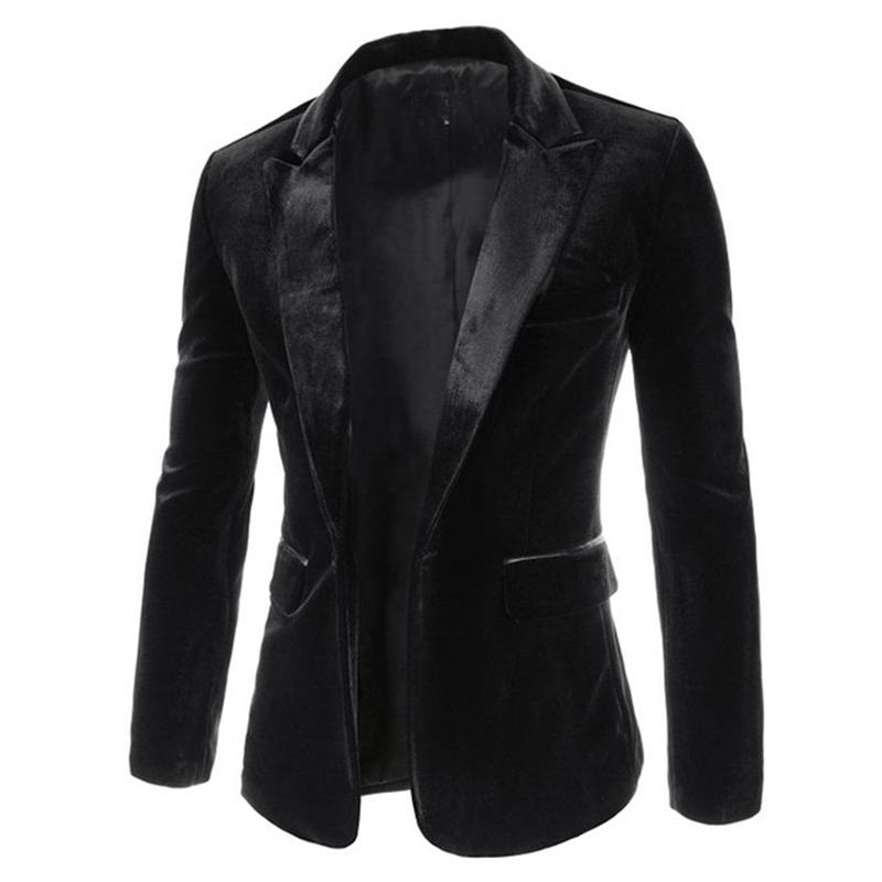 New Arrival Single Button Leisure Blazers Men Male 2015 Fashion Slim Fit Casual Suit Black Wine Blazer Dress Clothing 13M0463Одежда и ак�е��уары<br><br><br>Aliexpress