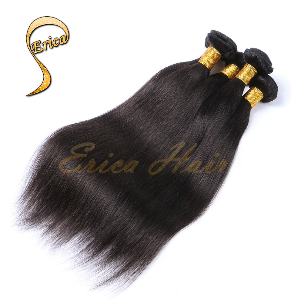 7A Virgin Filipino Hair Weave Filipino Virgin Straight 4pcs lot cheap Human Hair Extension Hair weft filipino human hair bundles