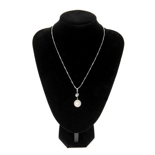 Quality Black velvet Necklace Jewelry Pendant Display Bust Stand Holder #24X18 cm Free shipping<br><br>Aliexpress