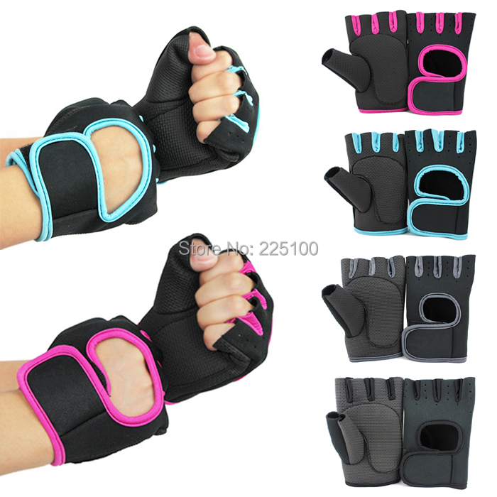 Sport Cycling Fitness GYM Weightlifting Exercise Half-finger Gloves Men Women Protect Palms Breathable - Fiona Sue's store