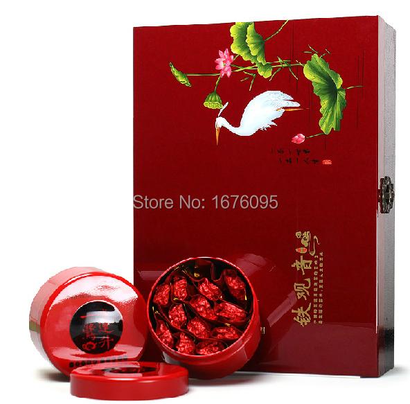 Senior gift packaging Oolong Tea 500g ,Buy tea send senior wooden boxes,Light flavor TiKuanYin tea(China (Mainland))