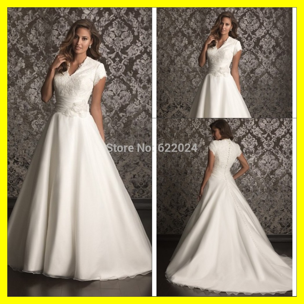 Buy Short Designer Wedding Dresses White