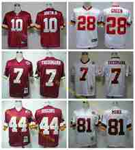 100% Stitiched,washington redskins Robert III,Art Monk,John Riggins,Darrell Green,JOE THEISMANN,Throwback for men Redskin(China (Mainland))