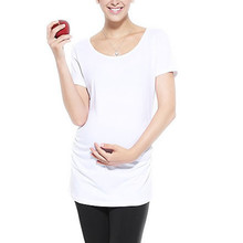 Summer High Quality  Maternity Tops T-shirt Cotton Pregnancy T-shirts Women Blouse(China (Mainland))