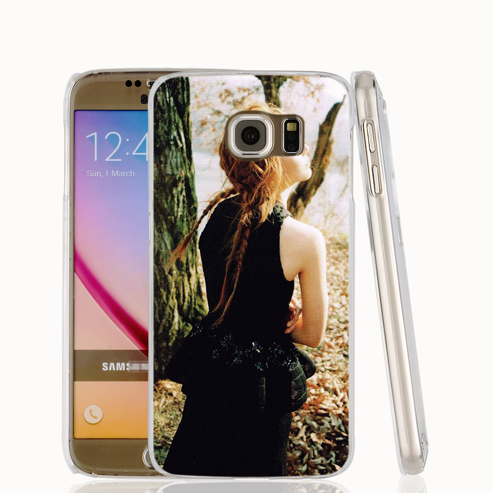 20827 krystal marie claire cell phone case cover for Samsung Galaxy S7 edge PLUS S6 S5 S4 S3 MINI(China (Mainland))