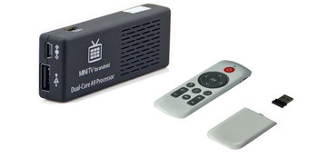 2pcs=Bluetooth Mini PC MK808B Dual Core 1.6GHz Google TV MK808 II+Keyboard Air mouse