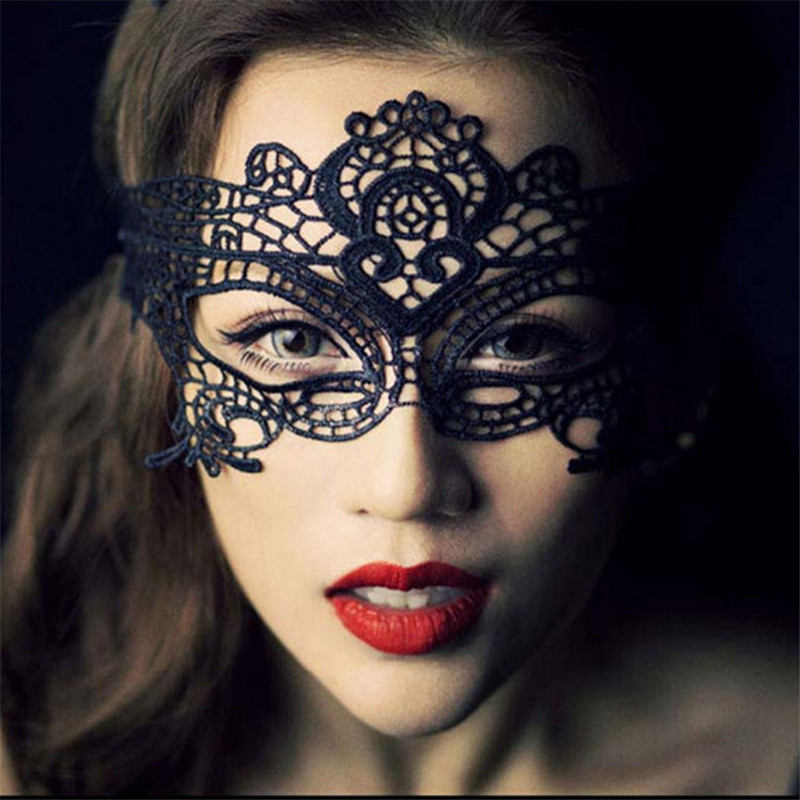 2016 Party Queen Black and White Butterfly Lace Mask Women Sexy Animal Party Masks Fascinating Funny Face Mask Masquerade Party(China (Mainland))