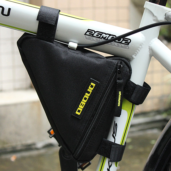 Hot selling Outdoor Triangle Bicycle Cycling Bike Bag Beams Tube Frame For Tripod Phone Tools Wallet Stand Kit(China (Mainland))