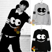 Tf tfboys pattern print lovers design o-neck casual sweatshirt  S.M.L.XL.XXL(China (Mainland))