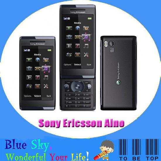 HK post free shipping Quad band Sony Ericsson U10i,Sony Ericsson Aino original cellphone(China (Mainland))