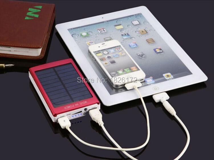 30000mAH universal Portable Solar Charger USB Solar External charger power bank usb solar panel battery portable charger(China (Mainland))