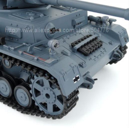 1:16 RC PZKPFW.IV AUSF.F2.SD.KFZ.161-1 / come with BB Shooting / lifelike Engine Sound and smoke / 3859-1 pro version(China (Mainland))