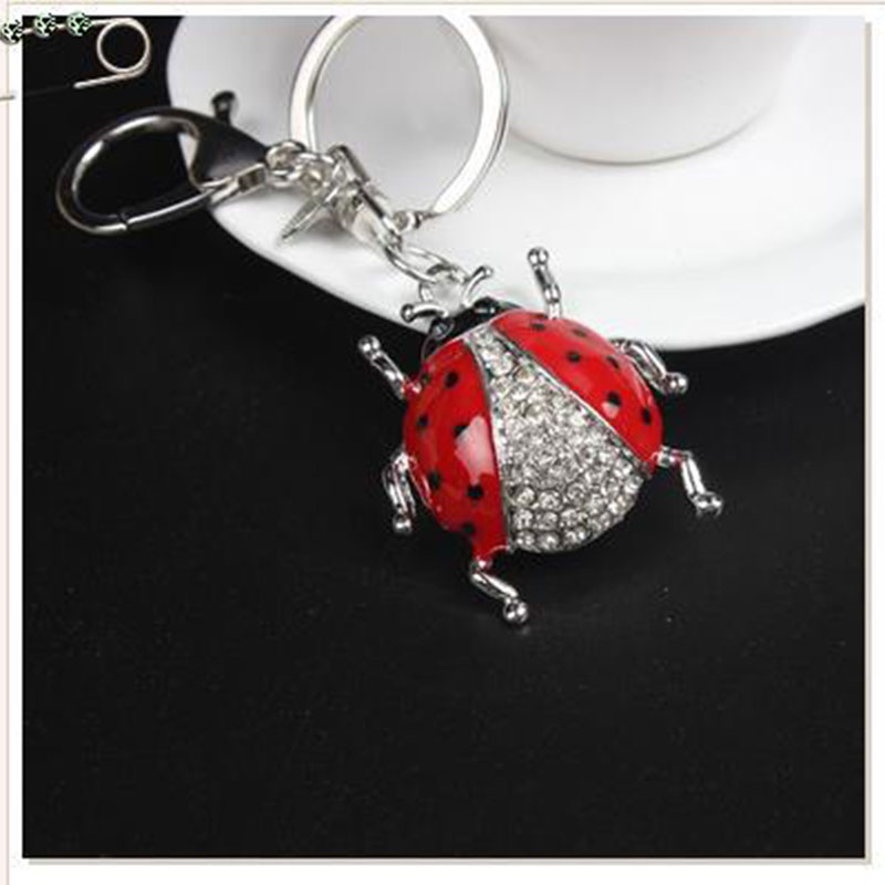 100 pcs keychain mix shape Chili owl clover beetle keychains for activity gift #1617<br><br>Aliexpress