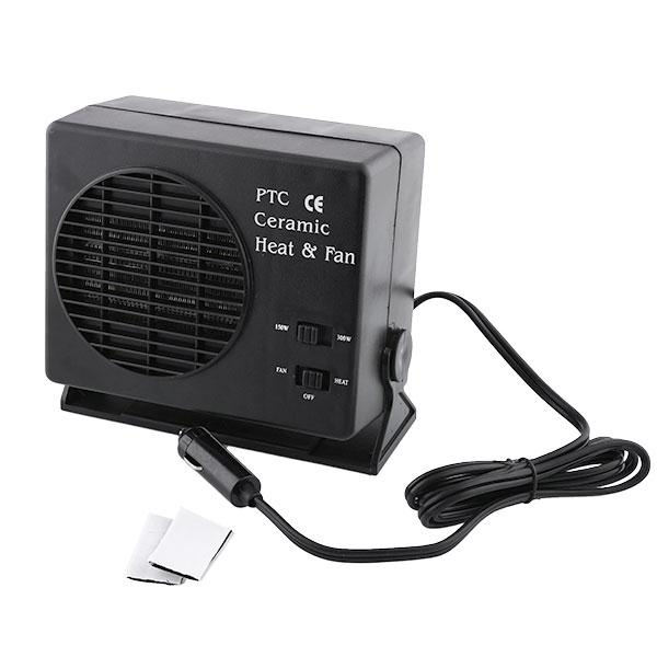 150W 300W Ceramic Auto Car Truck Fan Heater Portable Window Defroster 12V/24V
