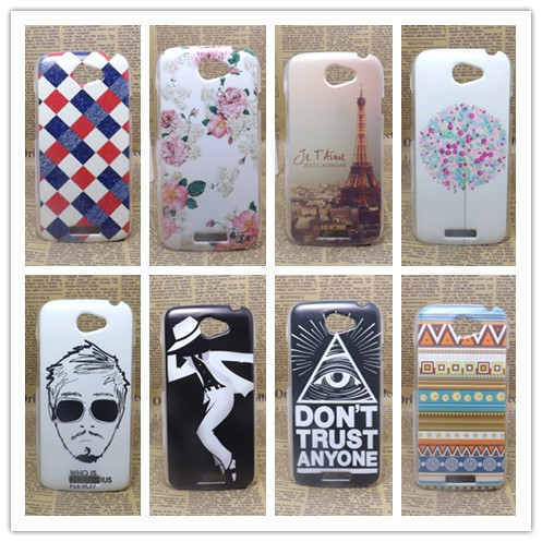 2014 Hot New Fashion Multi species Painting Hard Plastic Phone Case Cover For HTC One S Z520e +1 free screen protector(China (Mainland))