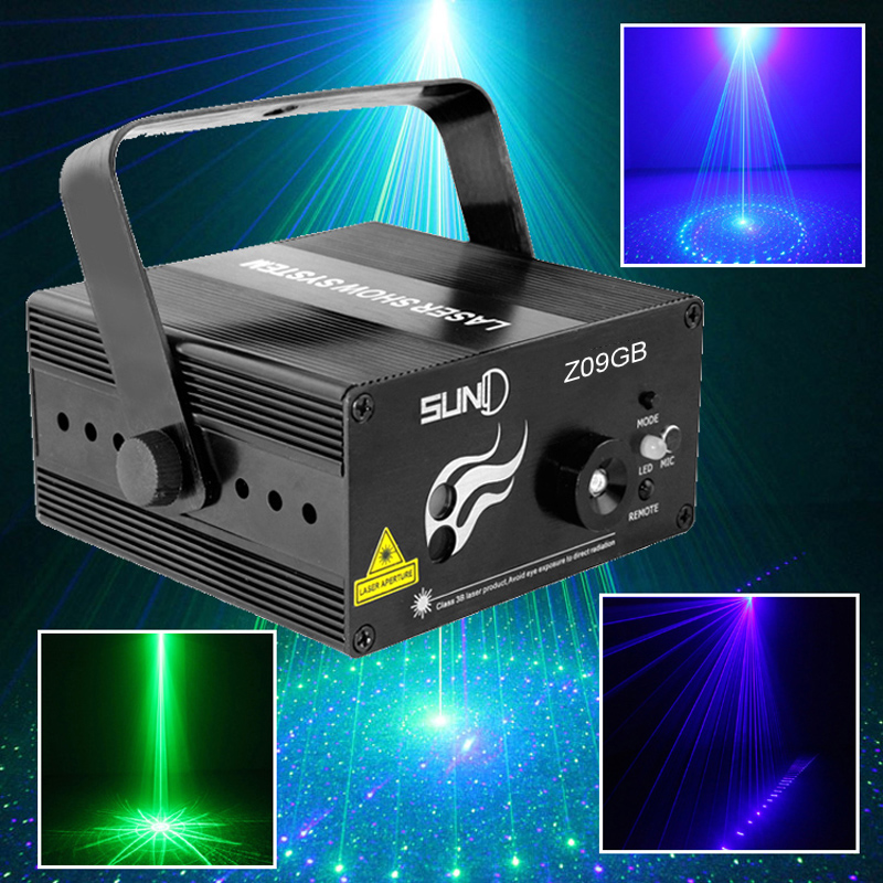 Suny  BG Mini Professional Stage  Led Laser   Disco Light  DJ Home Party Club Bar Lightning Effect          <br><br>Aliexpress