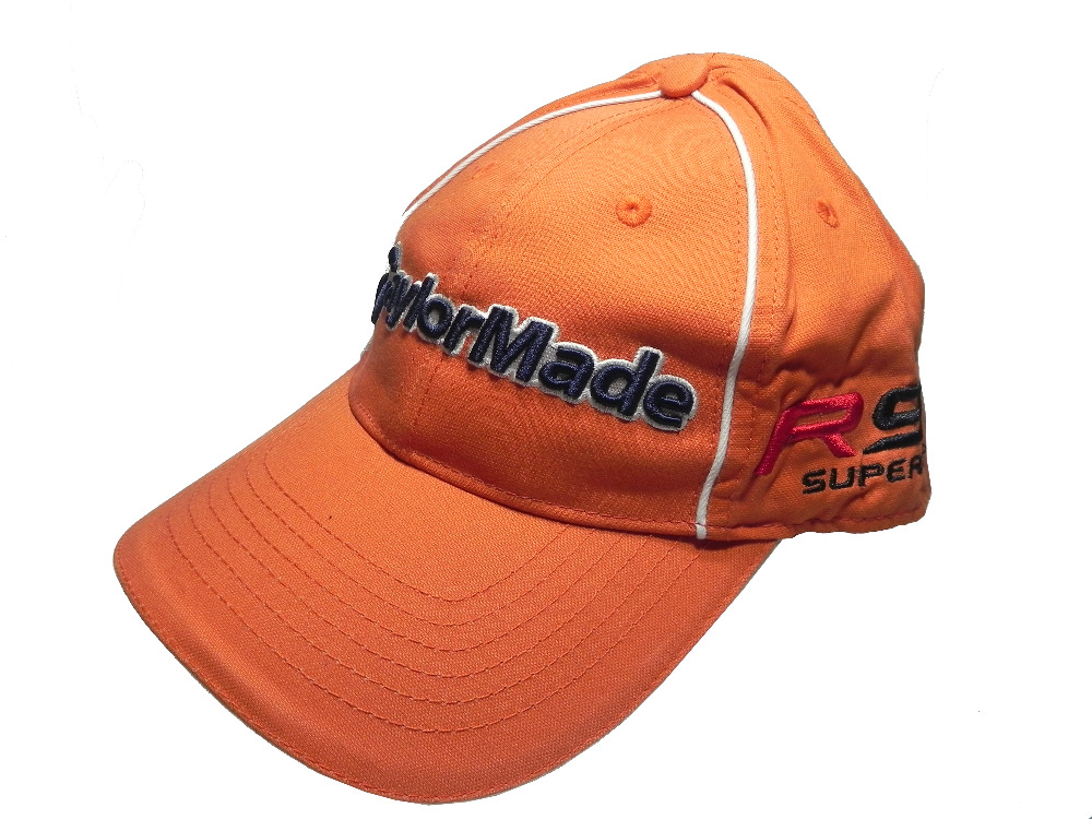 High Quality Orange Cotton Golf Caps Sport Baseball Tennis Cap Women Men Adjustable Snapback Outdoor Hats
