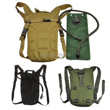 Hydration Water Backpack + 3L Water Bag Tactical Military Rucksack Bladder Bag For Outdoor Bicycle Camping Hiking Climbing(China (Mainland))