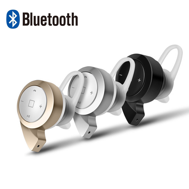 New Wireless Bluetooth Earphones And Mini Headphone V4.0 Handsfree In-ear Music Ear Buds Headset With Microphone For All Phones(China (Mainland))