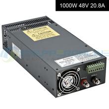 Шагового двигателя импульсный источник питания 1000 Вт 48 В 20.8A для фрезерный станок с чпу комплекты S-1000-48 фрезерный станок с чпу измельчить пена фрезерно-гравировальный вырезать лазер