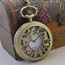fashion quartz pocket watch man alice in wonderland rabbit cat men vintage fob watches retro new
