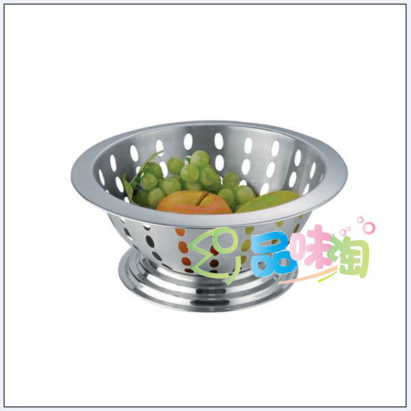 Fashion Kitchen Supplies Stainless Steel Fruit Plate Fruit