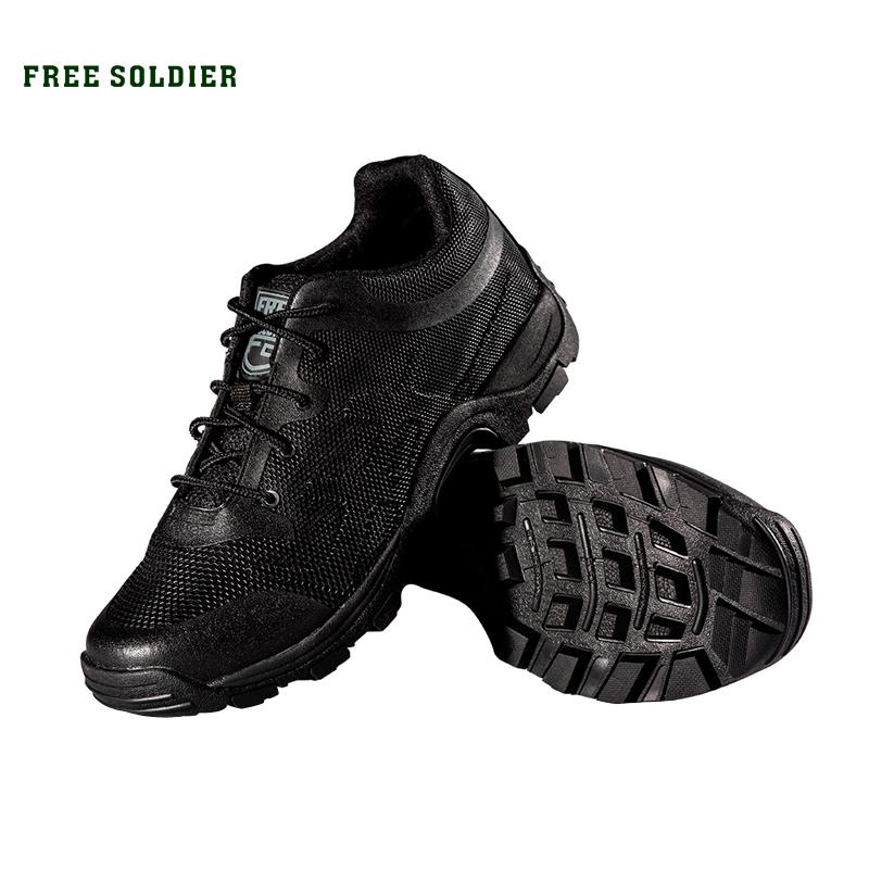 SOLDADO LIVRE dos homens a pé sapatos de escalada sapatos de desporto dos homens caminhadas botas de montanha shoes não-deslizamento respirável ao ar livre tênis para caminhada(China (Mainland))