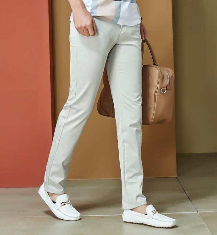 2016 новых свадебное мужчины брюки размер 29 - 40 мода тонкий свободного покроя хлопок марка бизнес пиджак платье брюки мужчины классические брюки мужской