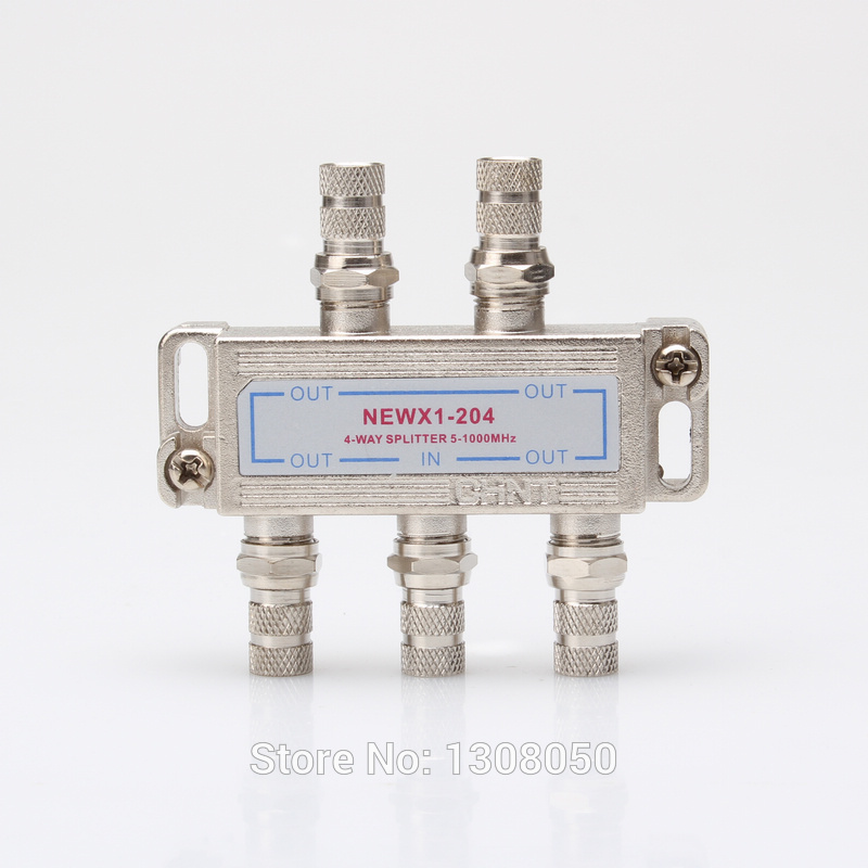 Cuit television distributor, cable television distributor a closed-circuit television 6-way splitter 5~1000 MHz(China (Mainland))