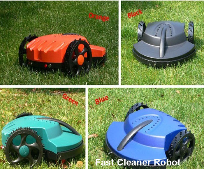 The Cheapest Robot Lawn Mower TC-158G with leadacid Battery,Auto Recharge,Remote Control,Free Shipping(China (Mainland))
