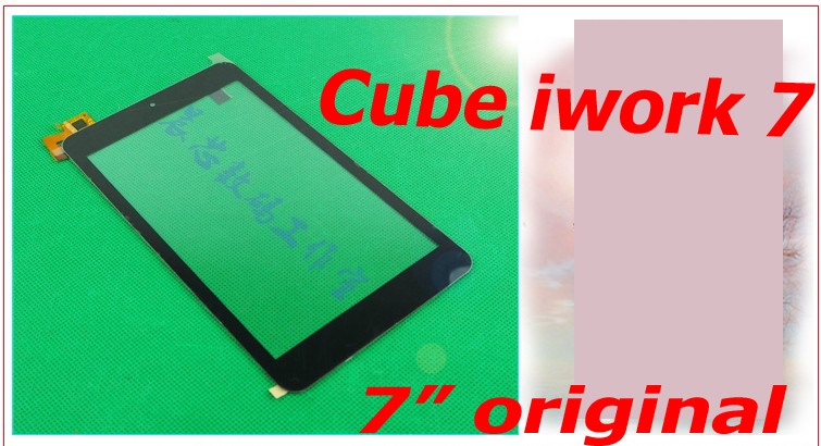 "2015 ORIGINAL Touch Screen 7"" for Cube iWork 7 U67GT Touchscreen iWork7 Glass Panel Replacement(China (Mainland))"