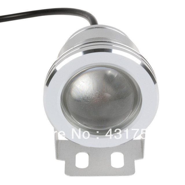 1PCS 10W 12v underwater RGB Led Light 1000LM Waterproof IP68 fountain pool Lamp 16 color change with IR Remote 2 years warranty