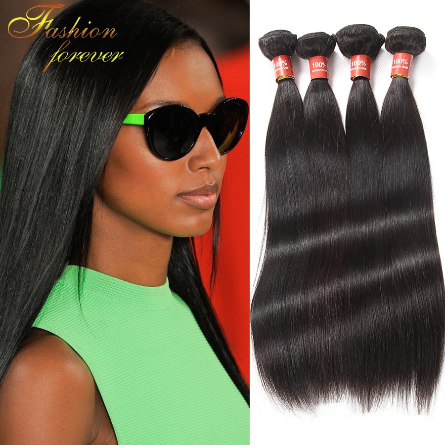 5A Brazilian Virgin Hair Straight Hair Virgin Human Hair Extension 4pcs/Bundles Brazilian Virgin Hair Straight Virgin Hair <br><br>Aliexpress