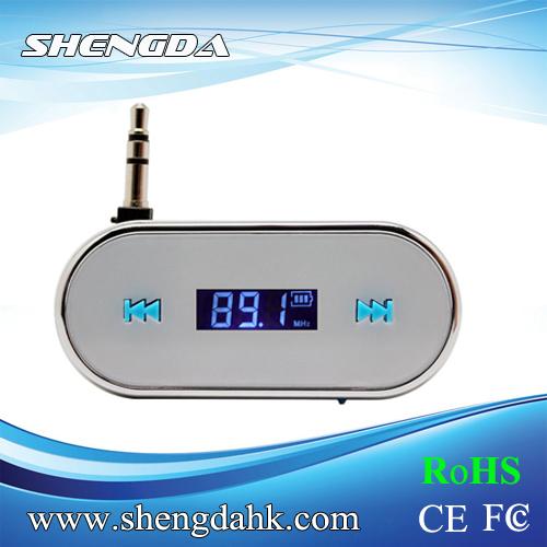 FI-316 White Wireless Car LCD MP3 FM Radio Modulator Transmitter Mobile Phones - Shengda Electronics Technology Limited store