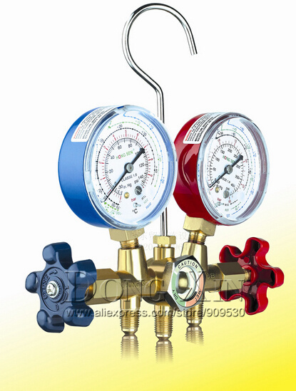 Household Air Conditioner manifold gauge CT-536C collector for R22 R134 R407(China (Mainland))