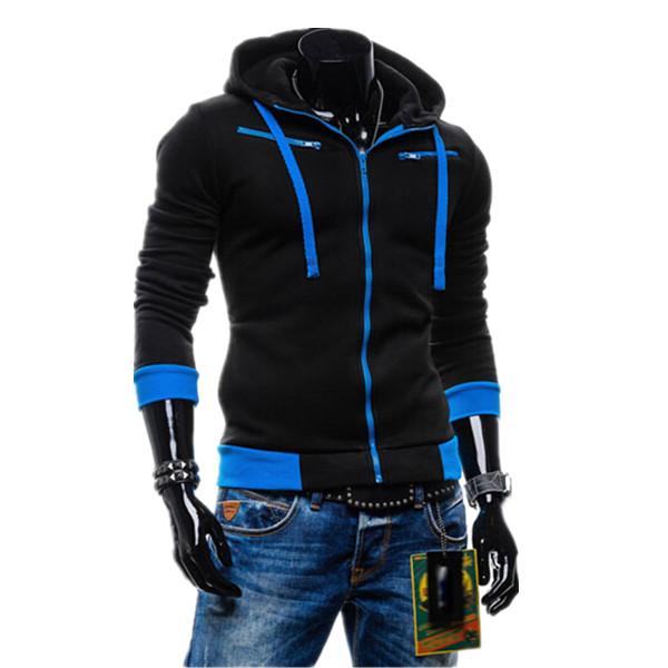 2015 Mens Hoodies Sweatshirts Autumn Winter Lovers Casual Men Jacket Men's Coat 5 Colors - Man's World Clothing Store store