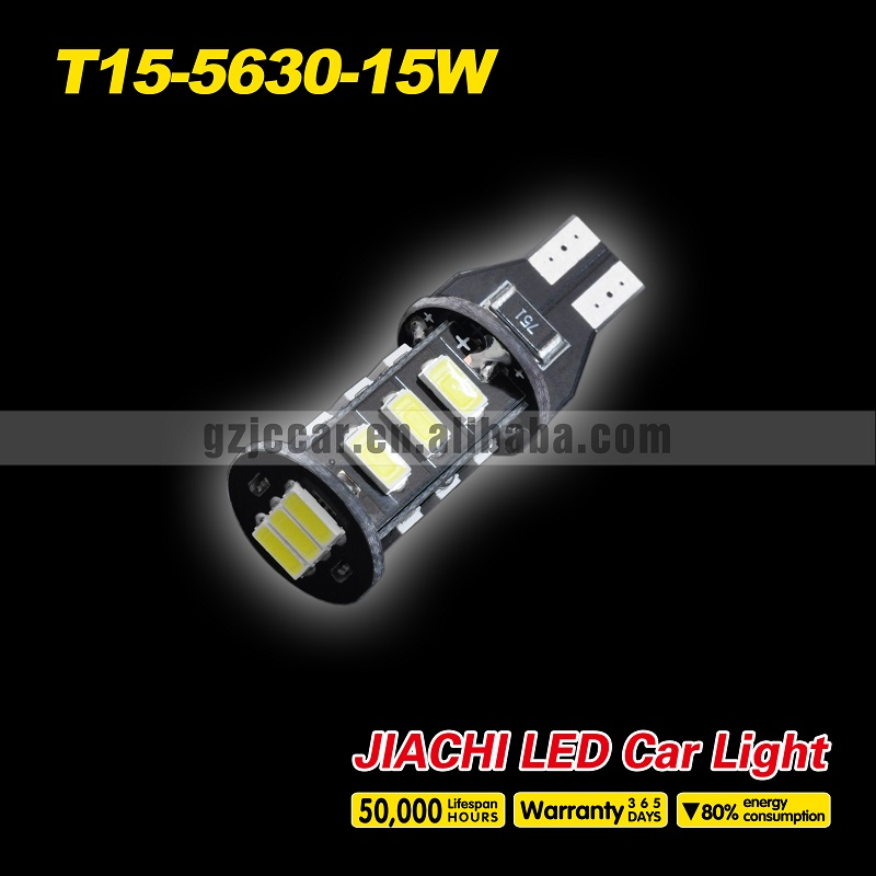 2016 Limited Hot Sale Led Car High Performance 12 Months Warranty Auto Canbus Lamp Bulb Car T15 Led Wedge Light For Passo(China (Mainland))