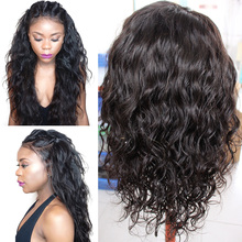 Water Wave Full/Front Lace Wigs Brazilian Full Lace Human Hair Wigs For Black Women and Wet Wavy Lace Front Human Hair Wigs(China (Mainland))