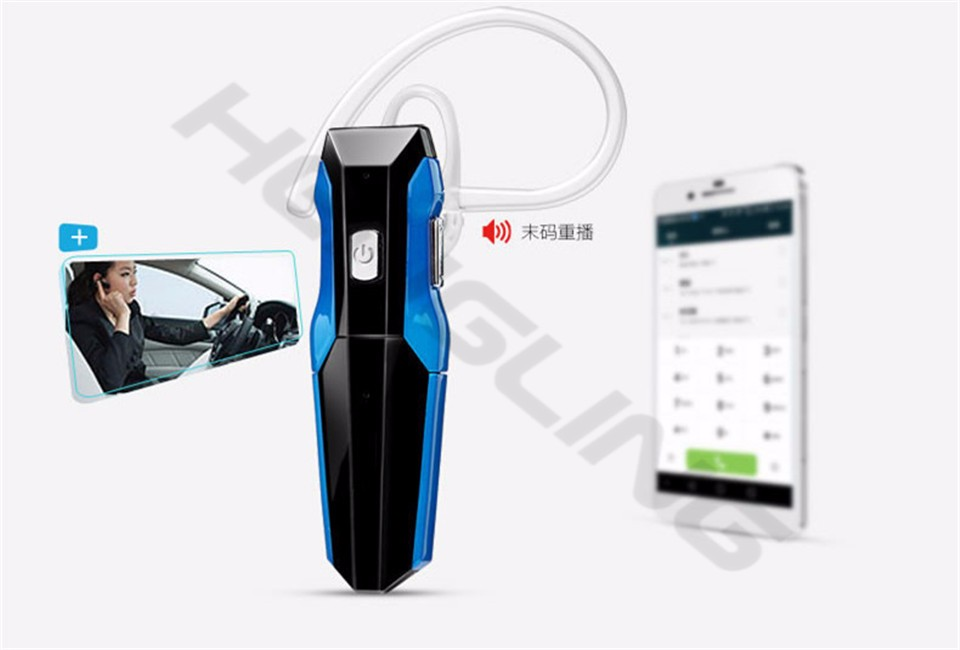 Wireless New bluetooth headset stereo bluetooth V4.1 battery all for replaceable headphone mini handfree iphone