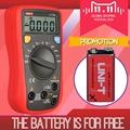 UNI T UT136B Digital Multimeters Diagnostic tool Auto Range Current Voltage Measure Gift Original 9V battery