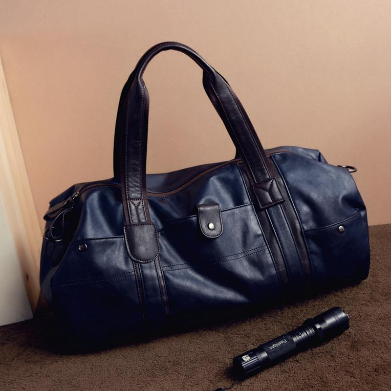 ... Small Business Men leather travel duffle bag sac de voyage Cossbody Men  Gym. 1 photo  2 photo  3 photo  4 photo ... 01c6995bdc