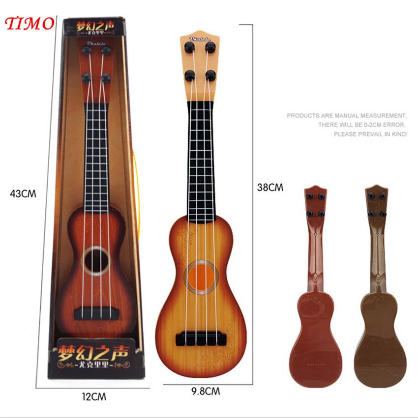 Plastic Uke Toy Gift Ukulele Ukelele MahaloEconomy Art Gifts Music Instrument For Children  Teenagers Gift Free shipping<br><br>Aliexpress